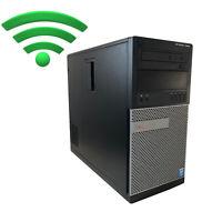 DELL OptiPlex 7010 MT Intel Core i7 3770 8-16GB RAM, SSD, HDD, WLAN Win10 PC