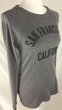 """Woman's Local Pride Gray Long Sleeve Thermal Shirt """"San Fransisco"""" NWT - Size M"""