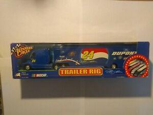 Winners Circle Jeff Gordon #24 Dupont 2002 Transport Semi Tractor Trailer Nascar