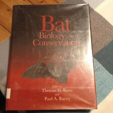 Bat Biology and Conservation by Thomas H Kunz 1998 ISBN 1-56098