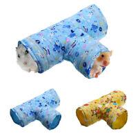 Small Animal Tunnel,Rabbit Ferret Hamster Guinea Pig Exercise Toy Pet Tube 1Pcs