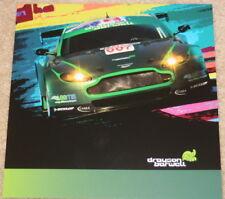 "2008 Drayson-Barwell ""2nd issued"" Aston Martin Vantage GT2 ALMS postcard"