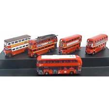 Oxford Diecast 1:148 NSET004 5 Piece Bus Set London Transport