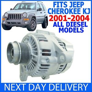 JEEP CHEROKEE KJ 2.5 & 2.8 CRD TD DIESEL 2001-2004 NEW ALTERNATOR LIBERTY SUV