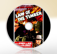 Law Of The Timber (1941) DVD Classic Action Movie / Film Marjorie Reynolds