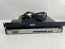 Luxul 8-Port Gigabit Ethernet PoE Switch XMS-1008P With ABR-4400 Router Lot (2)