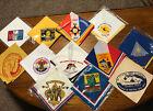 Vintage Lot of 12 BSA Boy Scout Scouts Neckerchiefs Jamboree Camporee  NEW