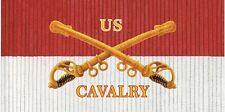 Cavalry Guidon License Plate -LP 202