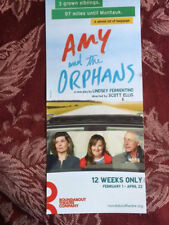 Amy and the Orphans  ad/flyer  Broadway NY Roundabout Theatre Company