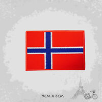 Norway National Country Flag Patch Iron On Patch Sew On Embroidered Patch