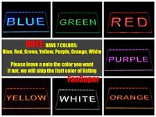 Toronto Maple Leafs Bar Beer Pub Club LED Neon Light Sign 7 Colors 2 Sizes