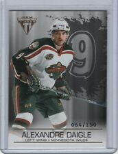 2003-04 Titanium Hobby Jersey Number Parallel #50 Alexandre Daigle 64/150