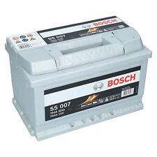 Bosch S5 007 12V 74Ah 750 A EN Autobatterie Starterbatterie ersetzt 70Ah 80Ah