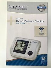 LifeSource Deluxe Blood Pressure Monitor UA-1010
