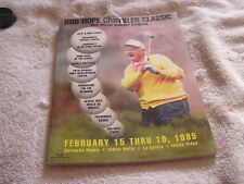 Bob Hope Desert Classic Program  36th Official 1995