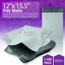 "12""x15.5"" Poly Mailer Shipping Mailing Packaging Envelope Self Sealing Bag Light"