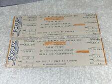 Cheap Trick 2 New Years 1979 Concert Tickets Forum Rick Nielsen Robin Zander Usa