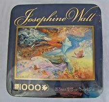 "JOSEPHINE WALL ""SPIRIT OF FLIGHT"" 1000 PIECE JIGSAW PUZZLE COMPLETE IN METAL BOX"