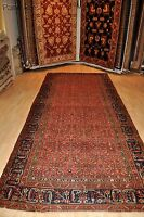 Antique Persian Hall-runner 16' Long Malayer large authentic pre 1900 #PM75