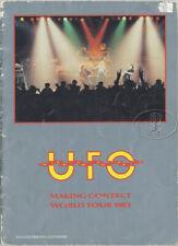UFO 1983 Tour Concert Program Tour Book
