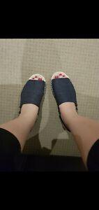 Country Road Denim Sandals