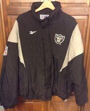 NWA Oakland Raiders Reebok Pro Line NFL Football Jacket Men's XL