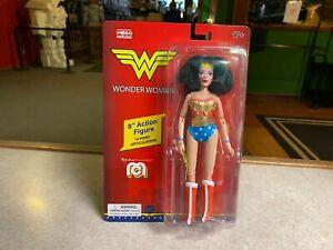 "2020 Mego DC Comics Super Heroes Mego WONDER WOMAN 8"" Action Figure MOC"