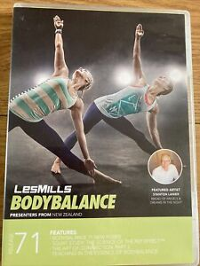 Les Mills Body Balance 71 DVD CD & Choreography Notes Instructor Pack