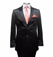 Herren Hochzeitsanzug Elegant Gr.44 Schwarz
