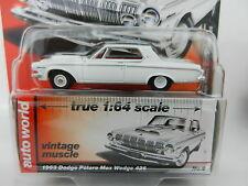 2017 AUTO WORLD 1:64 *PREMIUM 1B* WHITE 1963 Dodge Polara Max Wedge 426 *NIP*