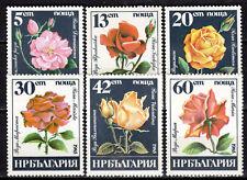 Bulgaria - 1985 Roses - Mi. 3373-78 MNH