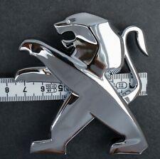 NEW Genuine Original Peugeot Front Rear Tailgate Boot Badge Lion Emblem Logo