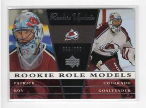2002-03 Upper Deck Rookie Update #104 Patrick Roy SP /999