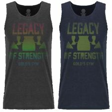 Gold's Gym 2018 Mens Legacy of Strength Sport Fitness Training Tank Top