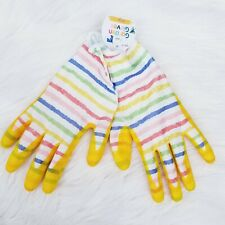 Gardening Gloves Yellow Multicolor Garden Gloves Kids Size L Ages 8+