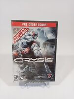 Crysis (PC, 2007) Cryteck EA Games BRAND NEW FACTORY SEALED for Windows