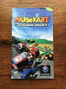 Mario Kart Double Dash Cart Racing Nintendo Gamecube Instruction Manual Only