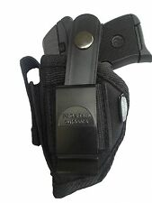 Protech Gun Holster fits Beretta Bobcat Black Nylon Use Left or Right Hand WSB-1