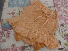 PURA Lana HAND Knitted skirtie porosi Pannolino Diaper Cover