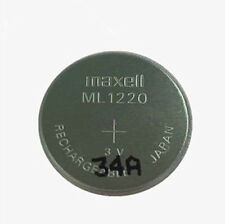 New Genuine for Maxell ML1220 3V Rechargeable Lithium-ion BIOS CMOS Battery Coin