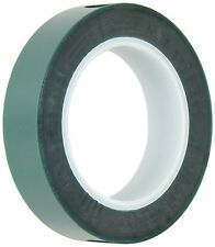 """HIGH TEMPERATURE POWDER COATING POLYESTER/SILICONE MASKING TAPE GREEN 7/8""""x72YDS"""