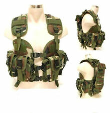 USMC US 97 MILIATRY TACTICAL MODULAR LOAD ASSAULT SWAT NAVY SEAL Woodland VEST