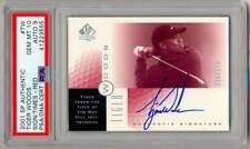 2001 SP Authentic SOTT Red Bay Hill TIGER WOODS Rookie RC Auto SP /273 PSA 10 !!
