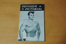 PHYSIQUE PICTORIAL VOL5 #2 1955 VINTAGE MAGAZINE BOYS ART BEEFCAKE GAY MALE NUDE