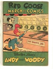 March Of Comics # 76 Fn- Red Goose Shoes Giveaway Andy & Woody Comic Book Jl17
