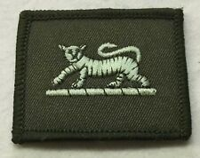 PWRR TRF Tiger Badge Flash Patch Army Military MTP Green N-731