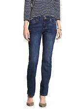 6064 Banana Republic Womens Medium Blue Wash Straight Leg Jeans Sz 32 / 14 $70