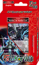 FOW - Machina, the Machine Lord - Deck - Alice Cluster - Force of Will TCG - NEW