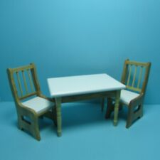 Ladder Back Seat Chair Kitchen Dining Unfinished 1:12 Miniature #CLA08677