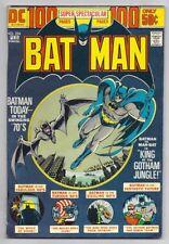 (1974) DC COMICS BATMAN #255 MAN-BAT COVER! 100-PAGE DC GIANT ISSUE! 4.5 / VG+